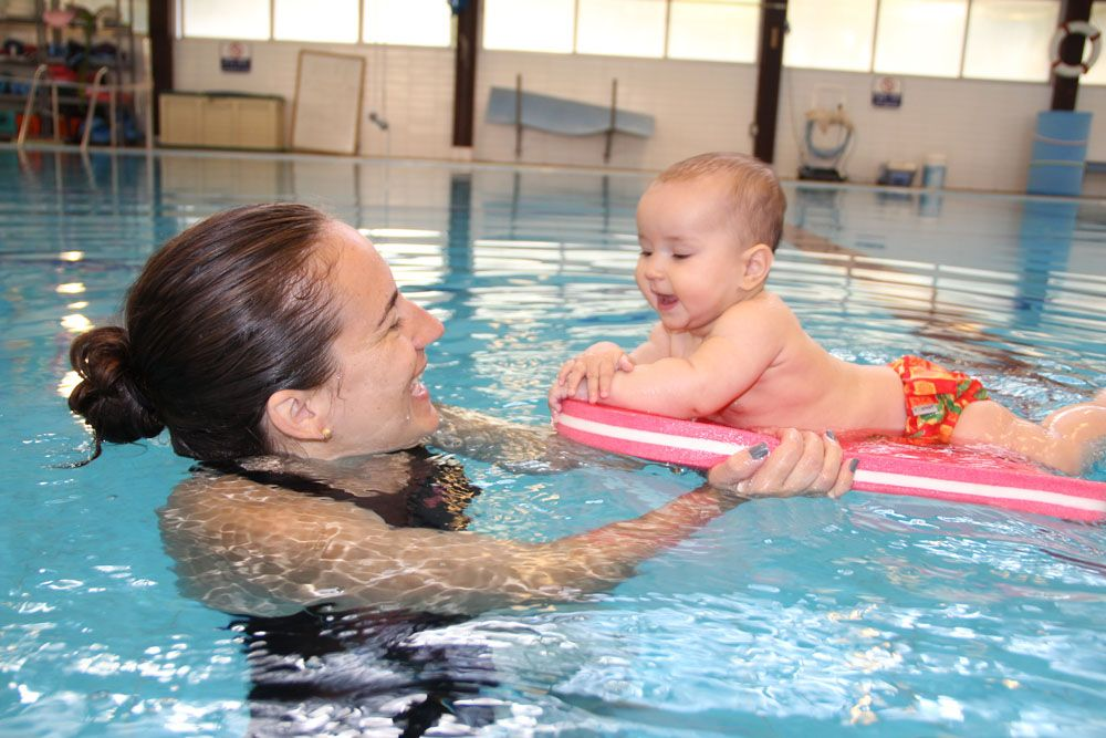 It's never too early to begin water activities with your baby!